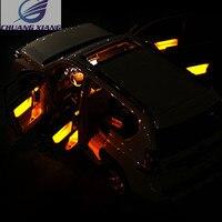 Chuangxiang межкомнатных дверей Атмосфера свет светодио дный света для Toyota Land Cruiser Prado FJ150 аксессуары 2010 2017