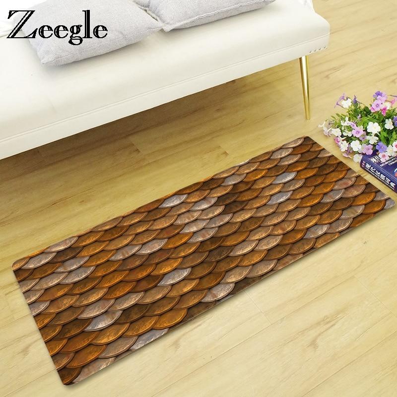 Zeegle Long Coffee Table Area Rug Home Decor Floor Mat ...