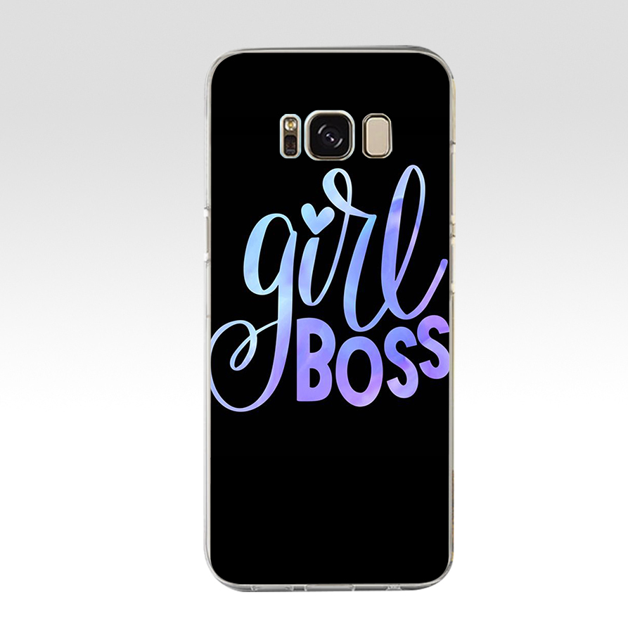 64 ZX Honey Girl Boss Like A Boss TPU Soft Silicone Case For Samsung Galaxy S6 S7 Edge S9 S8 S10 Plus Phone Cover Capa Capinha