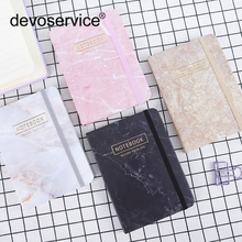 4Pcs A7 A6 A5 Notebook Paper Marble Pattern Lined Memo Pad Notebook Weekly PlaSketch Book  96 Sheets Office School Supplies Gift 1pcs random a6 96 sheets printed daily memo notepad creative hard copybook notebook greative office school tool supplies gift