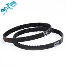 3D printer belt closed loop rubber GT2 timing belt 200 2GT 6 length 110 112 200mm