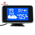 Universal Car Parking Assist System Double Line LED Digital Display Radar Alert System with 8 Sensors Buit-in Buzzer