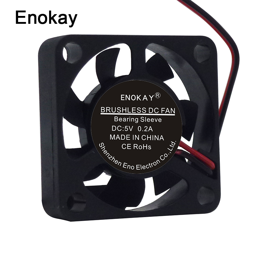 Wholesale 5 Pieces Enokay Dupont 2Pin <font><b>30mm</b></font> 3cm 30x30x7mm DC <font><b>5V</b></font> Mini <font><b>Cooling</b></font> <font><b>Fan</b></font> image