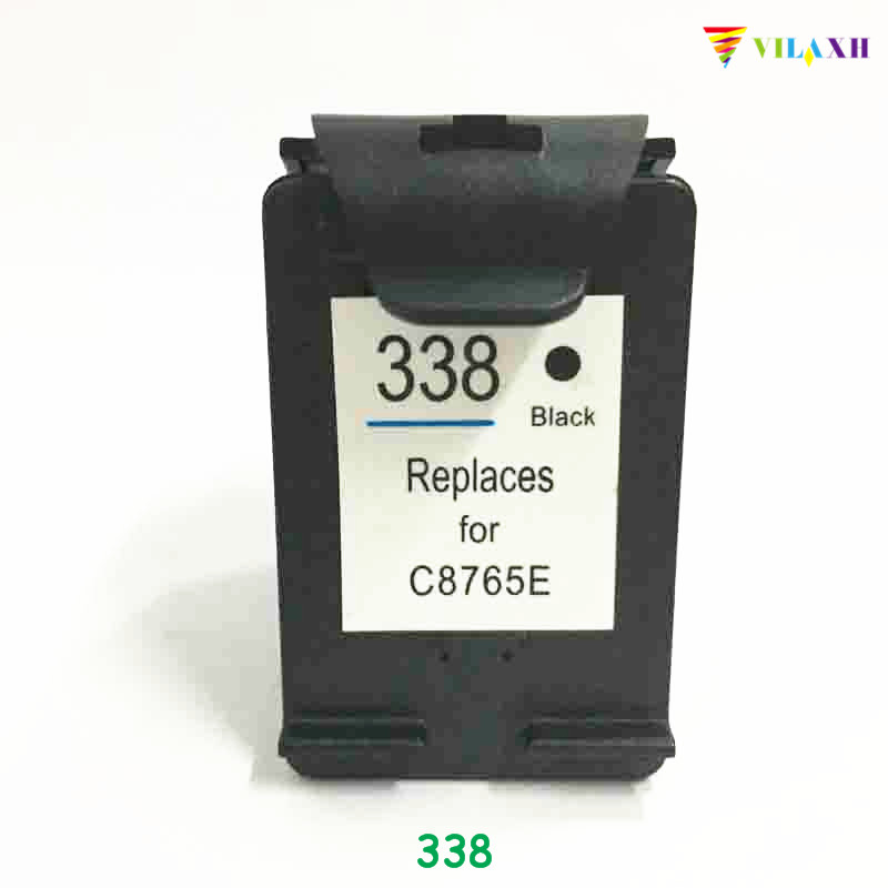 vilaxh 338 Compatible Ink Cartridge Replacement For HP 338 for Deskjet 5740 5745 6520 6540 PSC c3100 6830 1513 2350 2610 Printer in Ink Cartridges from Computer Office