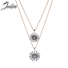 JOOLIM Removable 2 In 1 Starburst Layered Necklace High Quality Wholesale