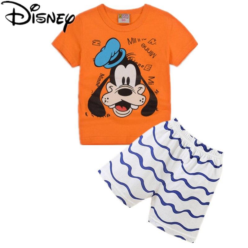 796a45e324 Disney Legoes Batman sport suit for boys Set Cartoon mickey mouse Children  clothing t shirt shorts 2pcs Kids Summer Clothes