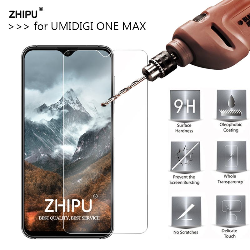 Tempered Glass For Umidigi One Max Glass Display screen Protector 2.5D 9H Premium Tempered Glass For Umidigi One Max Protecting Movie