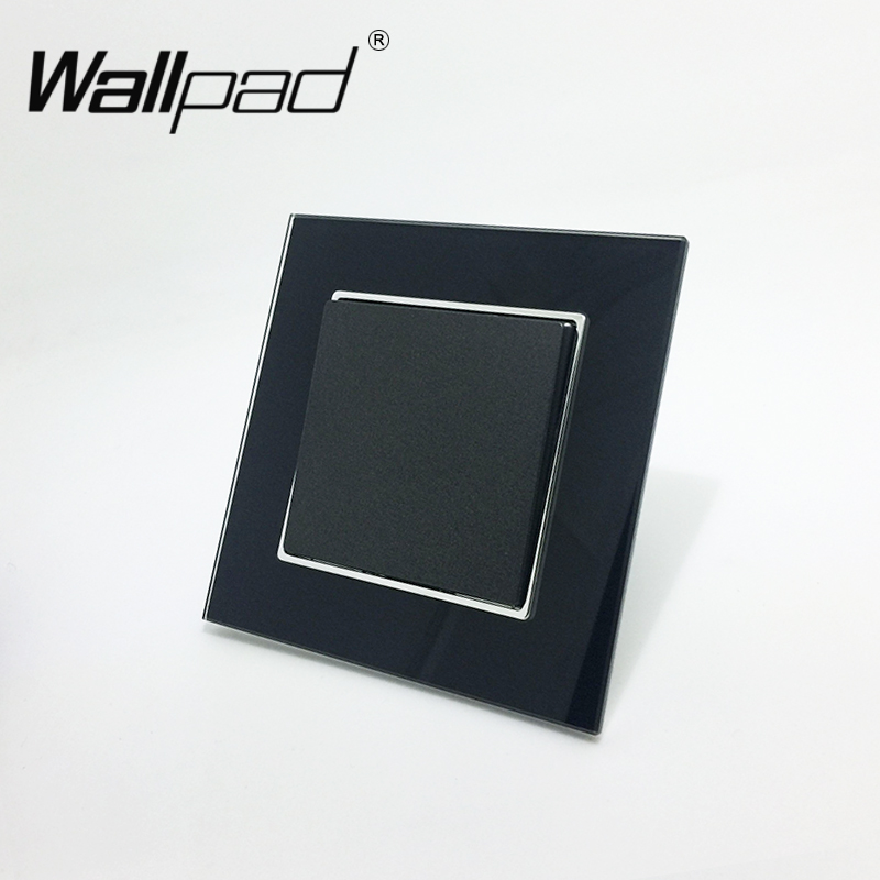 1 Gang Intermediate Switch Wallpad 110-250V Black Glass EU European 1 Gang Intermediate 3 Way Control Switch with Clip Mounting evans v dooley j enterprise 3 video activity book pre intermediate рабочая тетрадь к видеокурсу