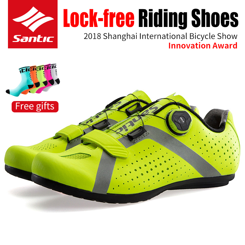 SANTIC Bicycle MTB Cycling Non-locking Shoes Non-slip Breathable Comfortable Bike Shoes Riding Shoes Athletic Racing SneakersSANTIC Bicycle MTB Cycling Non-locking Shoes Non-slip Breathable Comfortable Bike Shoes Riding Shoes Athletic Racing Sneakers