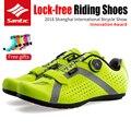 SANTIC MTB Bicicletta Ciclismo Non-bloccaggio Scarpe Non-slittamento Respirabile Comodo Scarpe Da Bici Equitazione Scarpe Da Ginnastica Da Corsa Scarpe Da Ginnastica