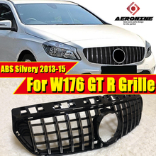 W176 GTS grille grill Silver A Class A160 A180 A200 220 250 A45amg grills Silver For Pre facelift models to 09/2015 without sign цена 2017