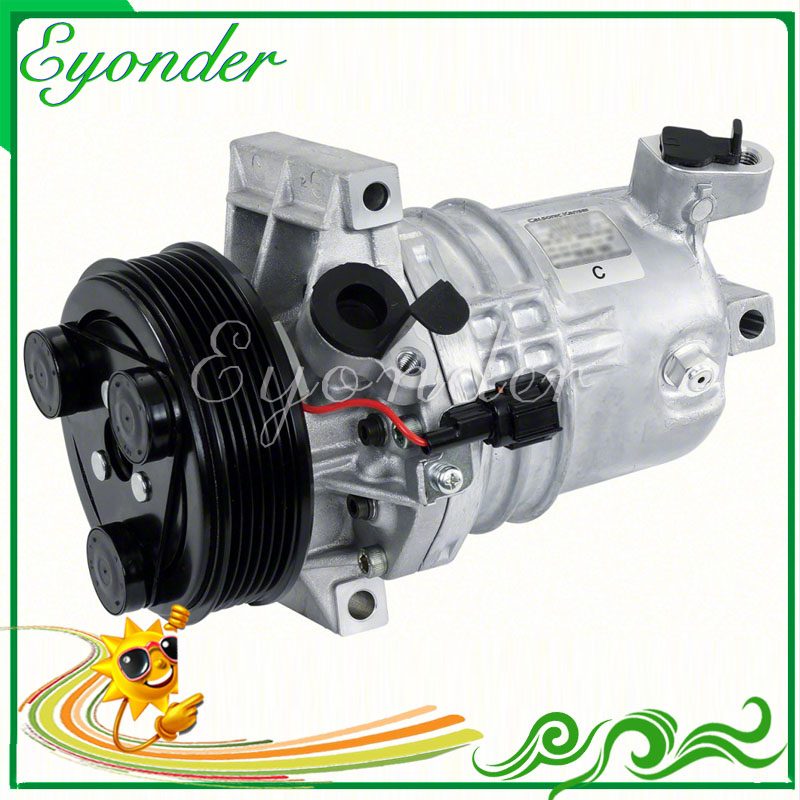 Cr10 A  C Ac Air Conditioning Compressor Cooling Pump Pv7 For Nissan Tiida Grand Livina 1 6l 2007