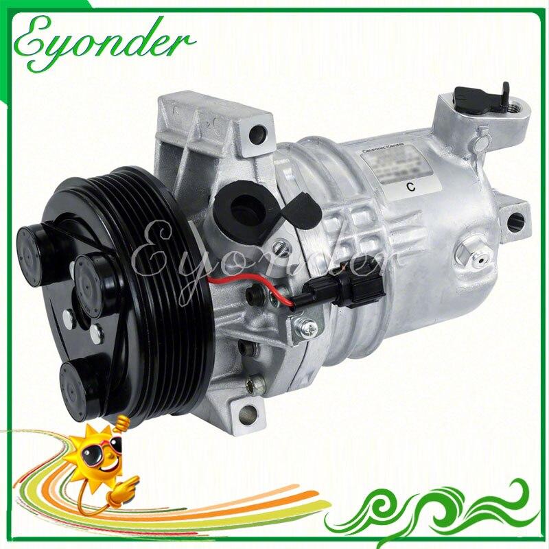 nissan tiida gearbox pump cr10 a/c ac air conditioning compressor cooling pump pv7 ... nissan tiida a c wiring diagram