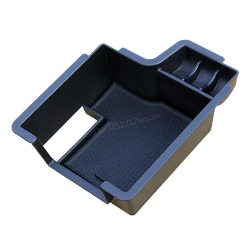 Car Glove Box Armrest box Central Secondary Storage Glove <font><b>Phone</b></font> <font><b>Holder</b></font> Container Tray Organizer For <font><b>Skoda</b></font> <font><b>Octavia</b></font> A7 2015 2016