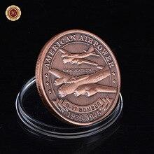 Армия Ввс США B-17 Сувенирная Монета Американских Военно-Воздушных Сил Сувенир Новинка Монета Фантазии Вызов Монеты Для Сбора