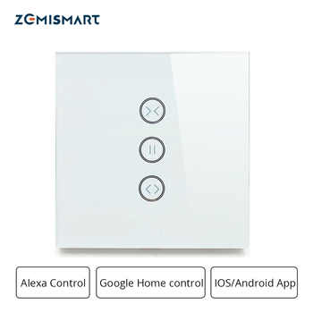 Zemismart Google Home Alexa Echo Curtain Switch Blind Switches For Standard Roller Motor Slide Engine Wifi APP Siri Control - DISCOUNT ITEM  40% OFF All Category
