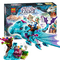 214 pcs new o dragão de água kit de aventura 10500 prédio de tijolos blocos presentes princesa playset brinquedos compatíveis com lego