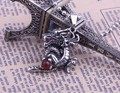 New free shipping!(100%) titanium steel pendant necklace with a dragon totem, man charm necklace quality statement necklace