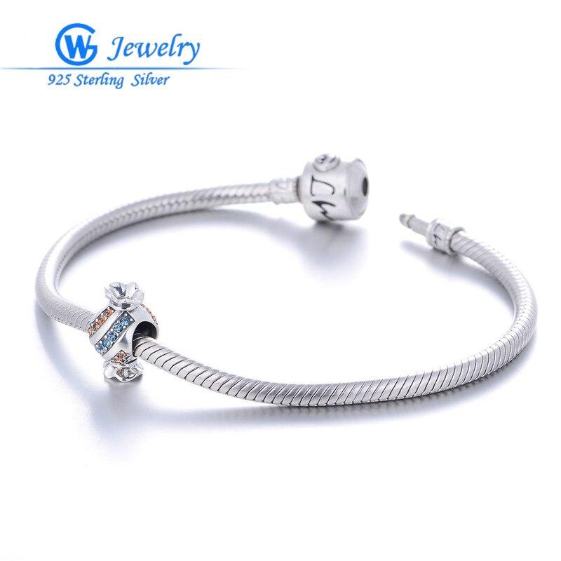 Wholesale Jewellery Mix Color Cz Stone Candy Shape Charms Fit For European Bracelet Diy GW Jewelry X341H30