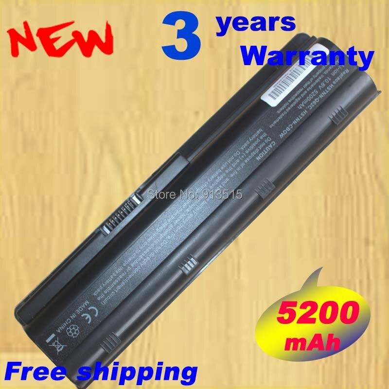 5200 mah dm4 batterie d'ordinateur portable pour hp 586007 593553 593554 593562 hstnn-ub0w wd548aa cq32 cq43 cq56 cq42 livraison gratuite