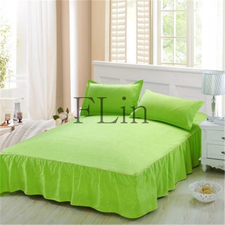 Bed Skirt Green 23
