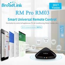 2017 Broadlink RM03 RM PRO Universal Intelligente Fernbedienung Smart Home Automation WiFi + IR + RF Schalter Über IOS Android Telefon