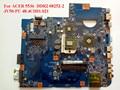 Para acer 5536 mbp4201002 ddr2 08252-2 jv50-pu 48.4ch01.021 laptop motherboard 100% testado