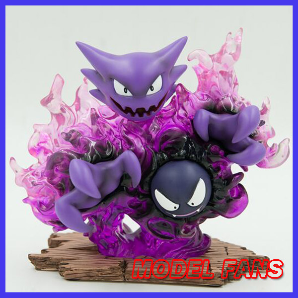 MODEL FANS IN-STOCK 15cm Pocket Monsters Gastly and Haunter GK resin made toy figure for Collection martyrs faith hope and love and their mother sophia 3d model relief figure stl format religion for cnc in stl file format