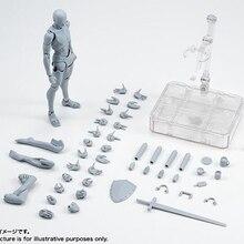 Высококачественный корпус KUN Takarai Rihito BODY CHAN Mange Рисунок DX BJD Серый Цвет ПВХ экшн Коллекционная модель игрушки