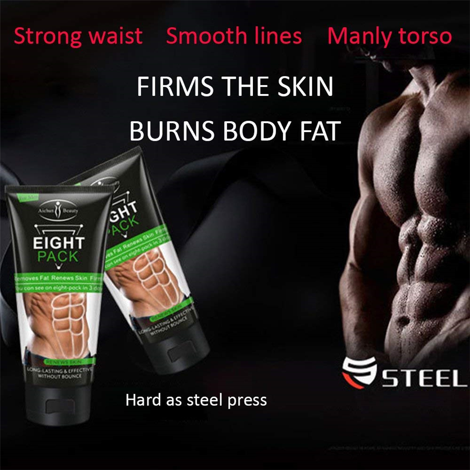 Abs Of Steel Definition Cream Reviews eight pack for men stronger muscle cream waist torso smooth lines press  fitness belly burning muscle fat remove weight loss