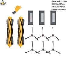 Yedek DM88 KTA yan fırça HEPA filtre ana fırçalar ECOVACS DEEBOT için M87 M88 Deebot 900 Deebot 901 aksesuarları parçaları