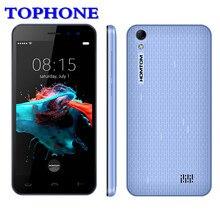 Оригинальный HOMTOM Ht16 смартфон с 3g WCDMA Android 6,0 мобильный телефон с четырехъядерным MTK6580 5,0 «HD 1 ГБ Оперативная память 8 ГБ Встроенная память Dual SIM мобильный телефон