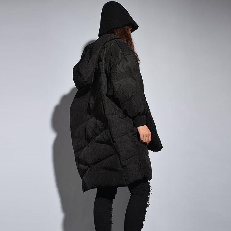 xitao Black Femelle Hiver Parka Pull Manteau Femmes Mode Lyh1446 Solide Casual Pleine Col Couleur Manches Nouveau Épais Printemps Et Long Poche ggxvrqn4R