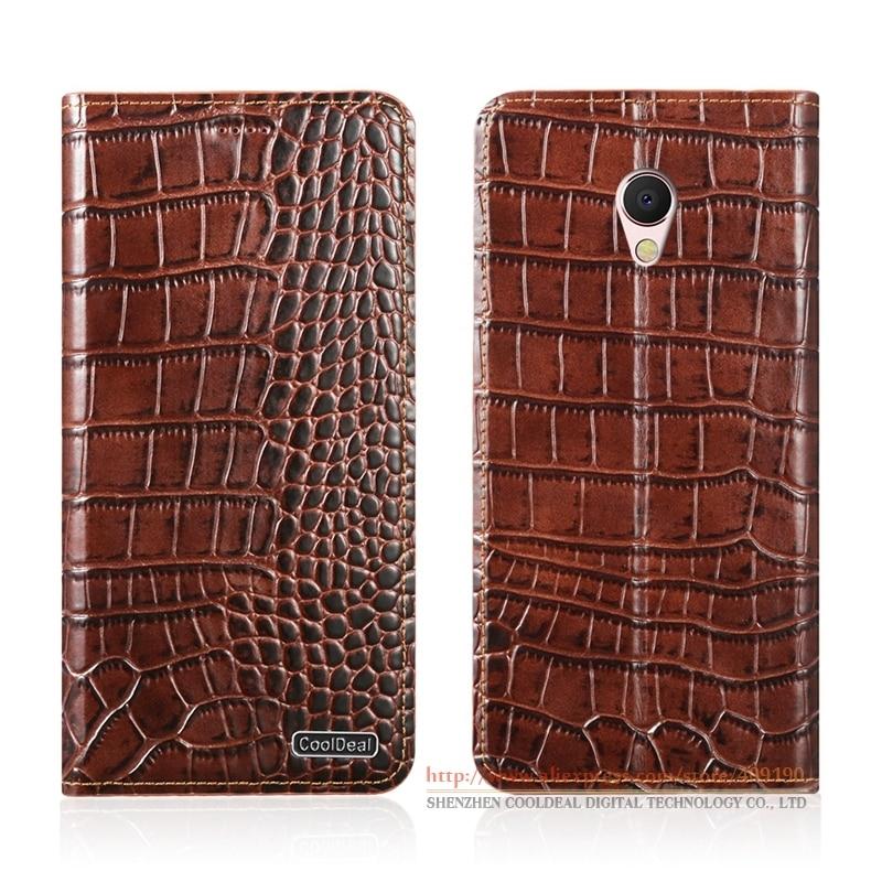 KickStand Magnetic Flip Cover Case For Meizu MX6 MX <font><b>6</b></font> 5.5&#8243; Luxury <font><b>Phone</b></font> Crocodile Lines Genuine Leather Case &#038; <font><b>1</b></font> Card Slot