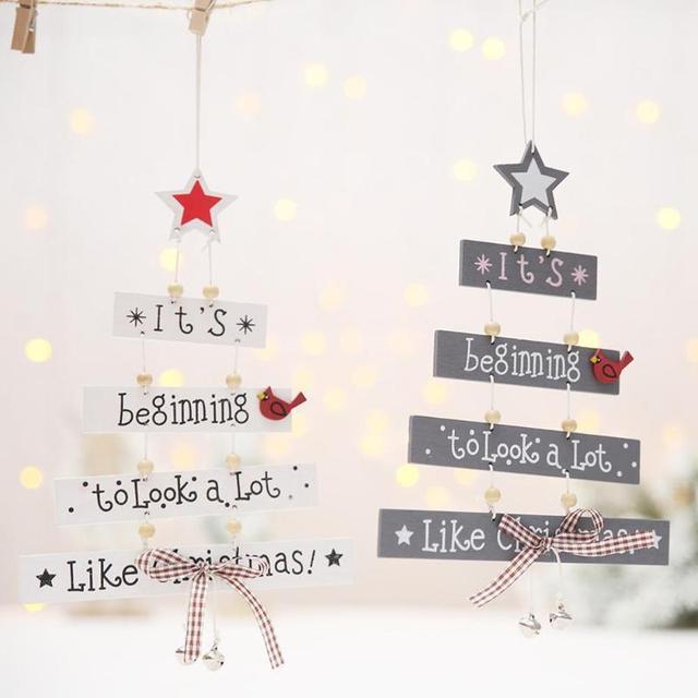 Christmas Decorations Ornament Opknoping Accessoires Levert kerst decoraties voor huis Nieuwe Jaar Levert