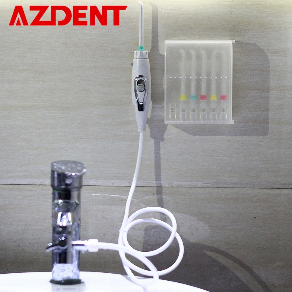 6 conseils Robinet Hydropulseur Commutateur D'eau Dentaire Flosser D'eau Portable Jet Irrigator Floss Mettre En Œuvre D'irrigation Dent Cleaner