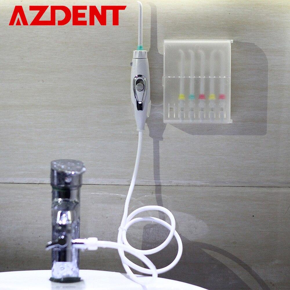 6 punte Rubinetto Irrigatore Orale Interruttore Acqua Dentale Fili e cotoni per ricamo er Portatile A Getto D'acqua Irrigatore Fili e cotoni per ricamo Implementare Irrigazione Dente Cleaner