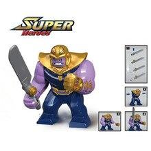 QUINEE OX The Marvel Hulk Figures Avengers Super Heroes Action Figure Toys Hulk Batman Thanos Model Toys Children Birthday Gifts