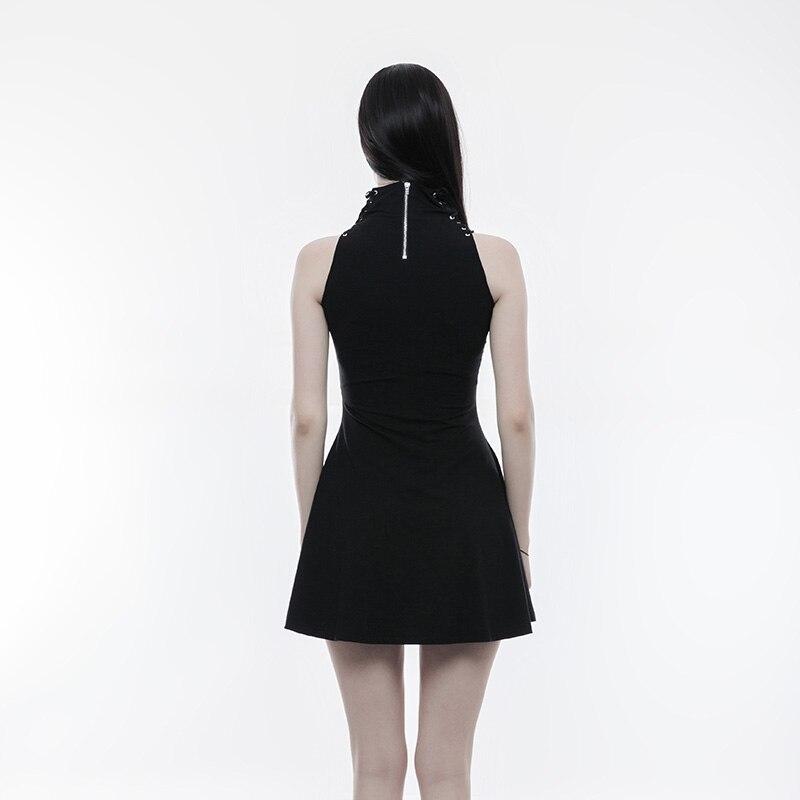 Forme Bandage 249 Col Coeur Gothique Black En Robe Évider Tricoté Opq Coton Vêtements Noir Rave Élastique Femmes Punk Maternel Lacé Haut De q1Z6Htq5w