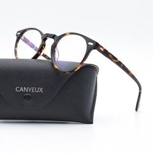 Image 5 - Vintage النظارات البصرية الإطار غريغوري بيك الرجعية النظارات المستديرة للرجال والنساء نظارات أسيتات إطارات