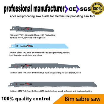 цена на reciprocating saw blade for reciprocating tools for wood chipboard metal and pvc pipes tree branch cutting