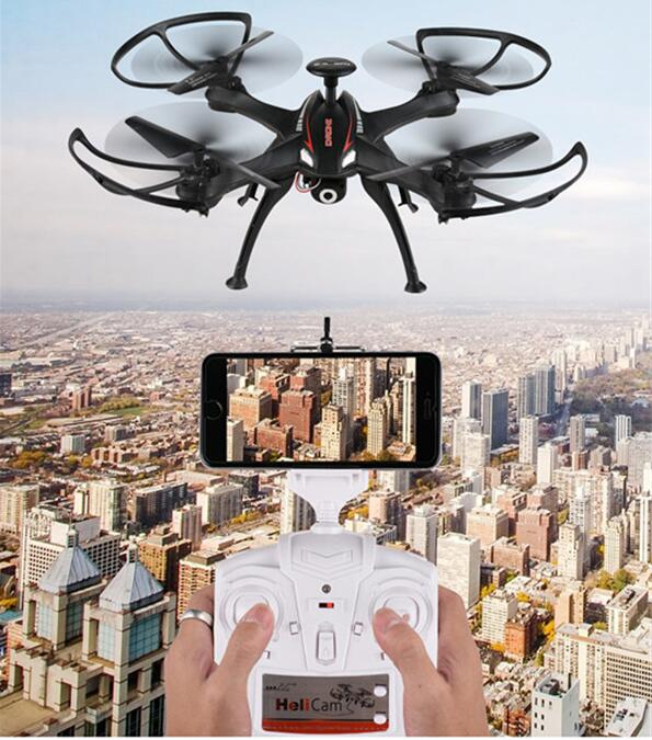 High-end aerial rc drone 1016 WIFI picture vedio real-time transmission helicopter 2.4G 6 axis gyro stunt roll with hd camera часы dom g 1016