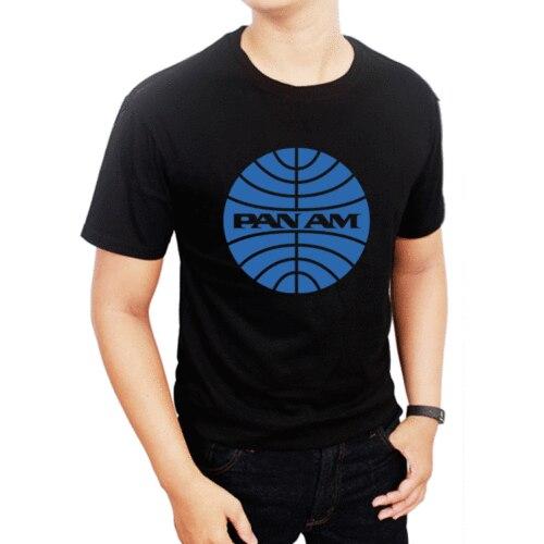 Gildan New Pan Am Retro Logo Unisex TShirt Mens Short Sleeve