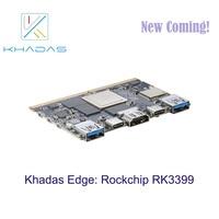 Khadas Edge Rockchip RK399 Board on running!