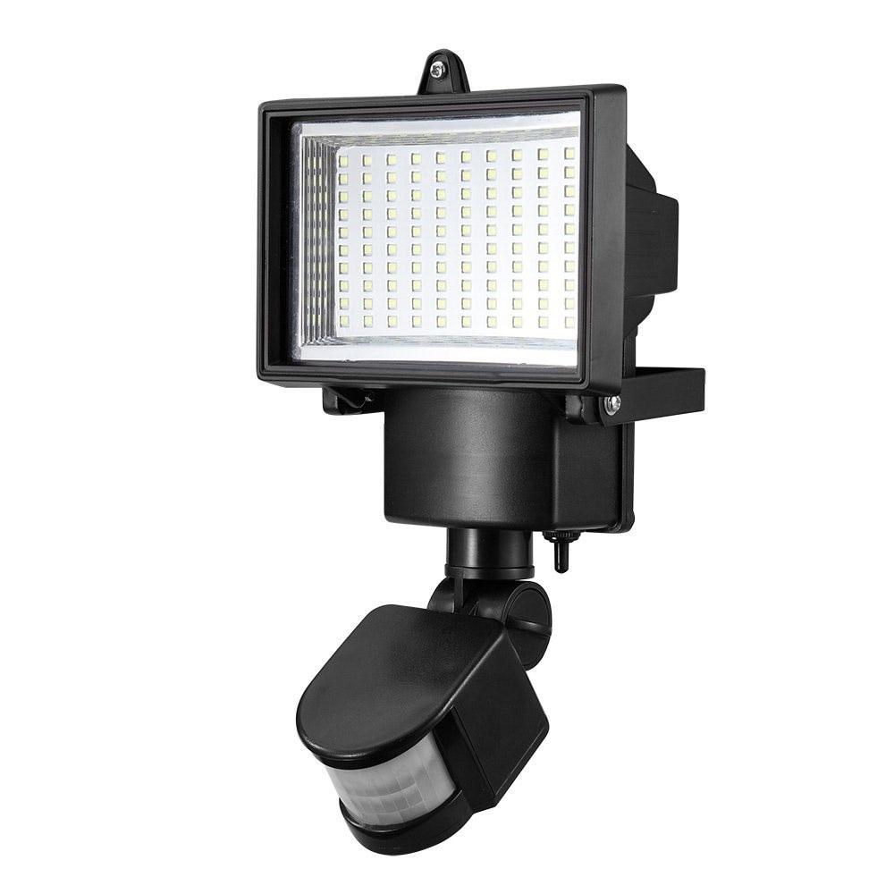 High Quality  100 SMD LED Solar Powered Sensor Security Light Motion Outdoor Garden Flood Lamp  цены