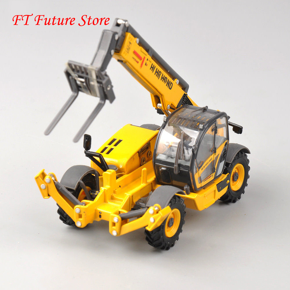 Collectible Alloy Model 1/50 Scale Excavation Dual-use Machine LM1745 New Holland Telehandler Turbo Construction Truck Vehicles
