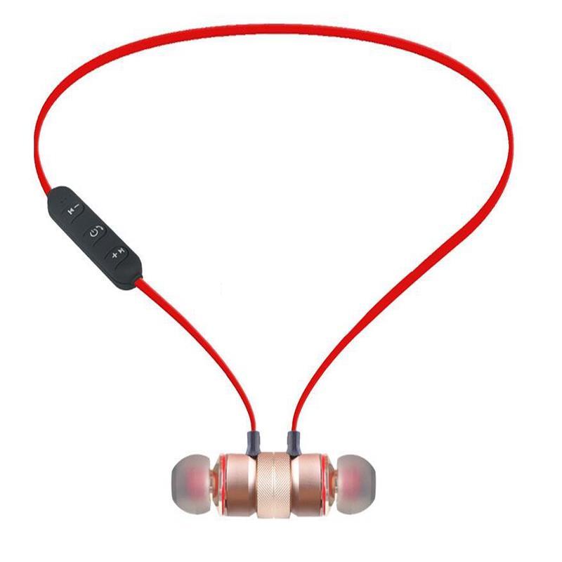 50 pcs sport Bluetooth mode casque de course magnétique anti-transpiration magnétique écouteur stéréo sans fil écouteur pour téléphone portable