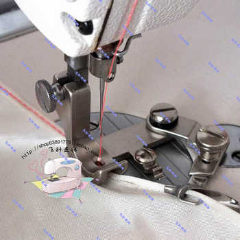 Industrial Sewing Machine Accessories Flat Chiffon Curl Edge Presser Foot Hem Curved Edge Presser Feet Puller Faucet - Category 🛒 All Category