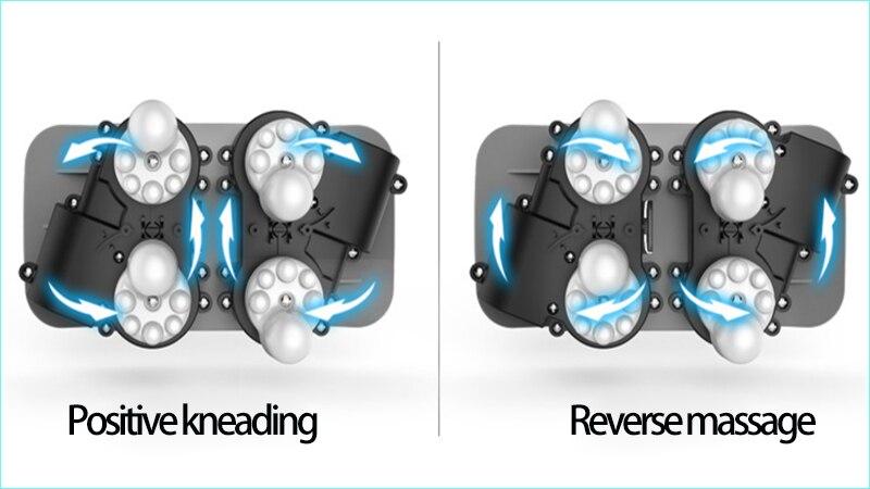 Idg cuidado de la salud recargable cervical vertebra mrassader cojín de cuello eléctrico en forma de U almohada de masaje - 6