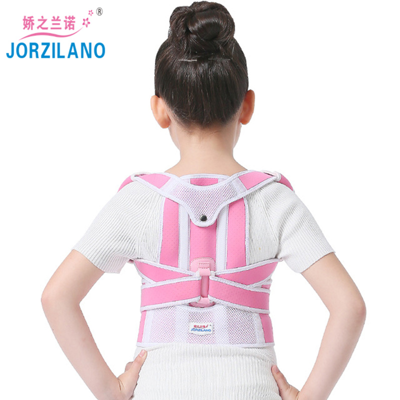2017 New Fashion Back Posture Correction Belt Humpback Correction Without Pain Professional Child Adjustable Back Chest